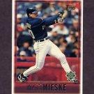 1997 Topps Baseball #168 Matt Mieske - Milwaukee Brewers