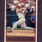 1997 Topps Baseball #162 Mickey Tettleton - Texas Rangers