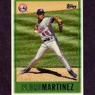 1997 Topps Baseball #158 Pedro Martinez - Montreal Expos