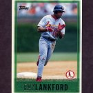 1997 Topps Baseball #087 Ray Lankford - St. Louis Cardinals