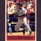 1997 Topps Baseball #078 Danny Tartabull - Chicago White Sox