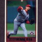 1997 Topps Baseball #076 Mike Henneman - Texas Rangers