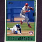 1997 Topps Baseball #064 Mickey Morandini - Philadelphia Phillies