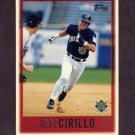1997 Topps Baseball #049 Jeff Cirillo - Milwaukee Brewers