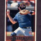 1997 Topps Baseball #047 Jorge Fabregas - California Angels