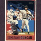 1997 Topps Baseball #045 Mariano Duncan - New York Yankees