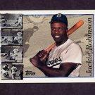 1997 Topps Baseball #042 Jackie Robinson TRIB - Brooklyn Dodgers