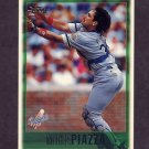 1997 Topps Baseball #020 Mike Piazza - Los Angeles Dodgers