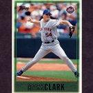 1997 Topps Baseball #005 Mark Clark - New York Mets
