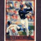 1997 Topps Baseball #004 Jose Valentin - Milwaukee Brewers