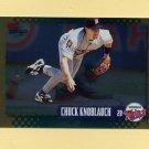 1995 Score Baseball Gold Rush #431 Chuck Knoblauch - Minnesota Twins