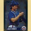 1995 Score Baseball Gold Rush #137 Kelly Stinnett - New York Mets