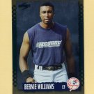 1995 Score Baseball Gold Rush #124 Bernie Williams - New York Yankees