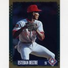 1995 Score Baseball Gold Rush #006 Esteban Beltre - Texas Rangers