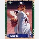 1995 Score Baseball #526 David Wells - Detroit Tigers