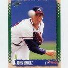 1995 Score Baseball #468 John Smoltz - Atlanta Braves