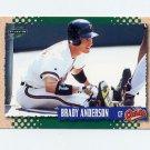 1995 Score Baseball #421 Brady Anderson - Baltimore Orioles