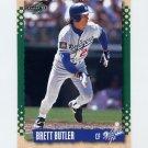 1995 Score Baseball #344 Brett Butler - Los Angeles Dodgers