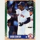 1995 Score Baseball #333 Andre Dawson - Boston Red Sox