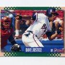 1995 Score Baseball #271 David Justice - Atlanta Braves