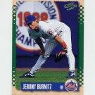 1995 Score Baseball #179 Jeromy Burnitz - New York Mets
