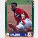 1995 Score Baseball #143 Brian Jordan - St. Louis Cardinals