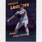 1999 Topps Baseball #232 Roger Clemens LL - Toronto Blue Jays