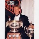 1991-92 Pro Set French Hockey #324 Wayne Gretzky / Art Ross Trophy / Lady Byng Trophy