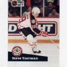 1991-92 Pro Set French Hockey #281 Steve Yzerman AS - Detroit Red Wings