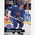 1991-92 Pro Set French Hockey #199 Joe Sakic - Quebec Nordiques