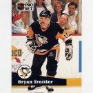 1991-92 Pro Set French Hockey #192 Bryan Trottier - Pittsburgh Penguins