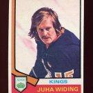 1974-75 Topps Hockey #258 Juha Widing - Los Angeles Kings