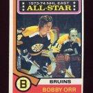 1974-75 Topps Hockey #130 Bobby Orr AS - Boston Bruins