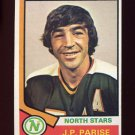 1974-75 Topps Hockey #083 Jean-Paul Parise - Minnesota North Stars