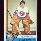 1974-75 Topps Hockey #082 Billy Smith - New York Islanders