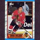 1989-90 Topps Hockey #112 Doug Wilson - Chicago Blackhawks