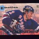 1995-96 Skybox Emotion Hockey #115 Brian Leetch - New York Rangers