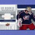 2008-09 Upper Deck Hockey Rookie Materials #RMMA Steve Mason - Blue Jackets Game-Used JSY