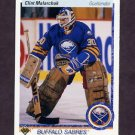 1990-91 Upper Deck Hockey #399 Clint Malarchuk - Buffalo Sabres