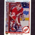 1990-91 Upper Deck Hockey #393 Tim Cheveldae RC - Detroit Red Wings