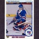 1990-91 Upper Deck Hockey #279 John Vanbiesbrouck - New York Rangers
