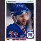 1990-91 Upper Deck Hockey #277 Mike Gartner - New York Rangers