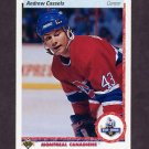 1990-91 Upper Deck Hockey #265 Andrew Cassels RC - Montreal Canadiens