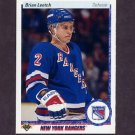 1990-91 Upper Deck Hockey #253 Brian Leetch - New York Rangers