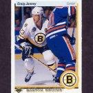 1990-91 Upper Deck Hockey #234 Craig Janney - Boston Bruins