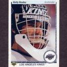 1990-91 Upper Deck Hockey #231 Kelly Hrudey - Los Angeles Kings