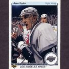 1990-91 Upper Deck Hockey #214 Dave Taylor - Los Angeles Kings
