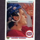 1990-91 Upper Deck Hockey #188 Guy Carbonneau - Montreal Canadiens