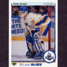 1990-91 Upper Deck Hockey #175 Curtis Joseph RC - St. Louis Blues