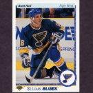 1990-91 Upper Deck Hockey #154 Brett Hull - St. Louis Blues